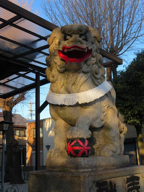 金山神社 - 18:狛犬