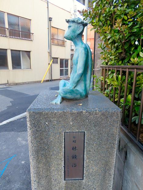 須佐之男社裏にある河童像 - 4