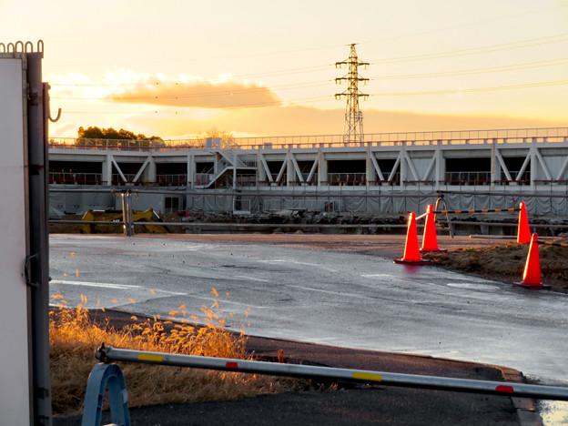 旧・ザ・モール春日井(2020年1月15日):まだ解体中?それとも新しい建物建設始まった? - 2