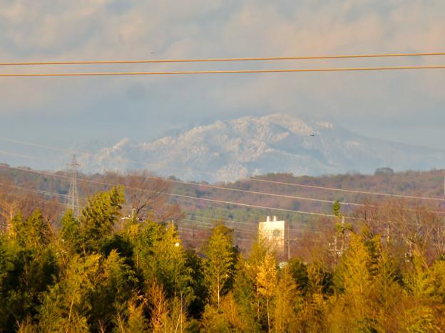 雪が降ってるからか、斜面がモコモコしてた御嶽山 - 1