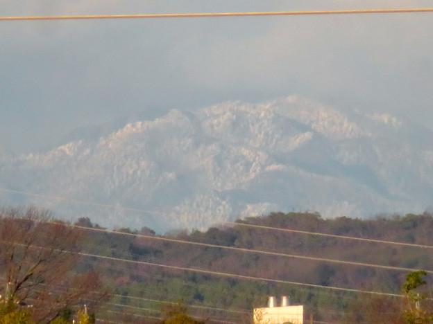 雪が降ってるからか、斜面がモコモコしてた御嶽山 - 2