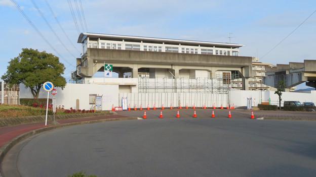 桃花台線の桃花台東駅撤去工事(2020年1月18日) - 22