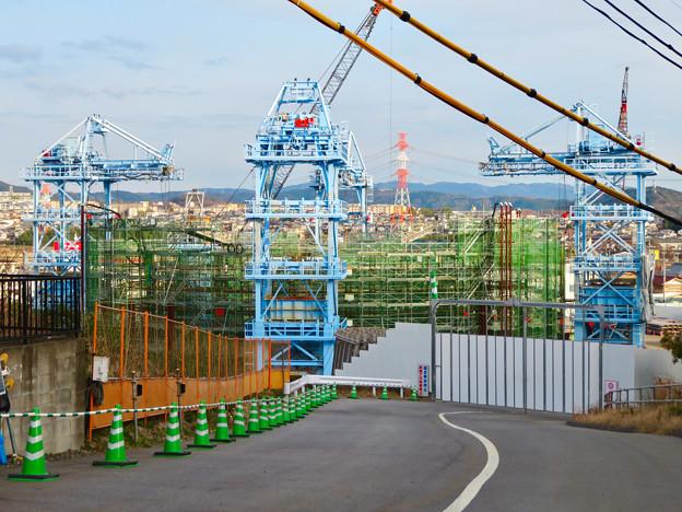 建設中のリニア中央新幹線の非常口(2020年1月18日) - 1