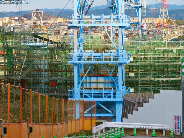建設中のリニア中央新幹線の非常口(2020年1月18日) - 3