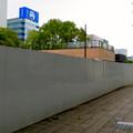 栄バスターミナル跡地に建設中の「ミツコシマエ ヒロバス」- 5