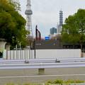 Photos: 栄バスターミナル跡地に建設中の「ミツコシマエ ヒロバス」- 8