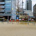 Photos: 大須商店街:裏門前公園に海賊モチーフのブランコ - 1