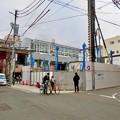 Photos: 大須招き猫広場横に新しい建物の建設始まる
