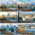 建設中のリニア中央新幹線の非常口(時系列)- 1