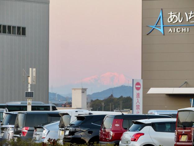 エアポート名古屋から見えた御嶽山 - 1