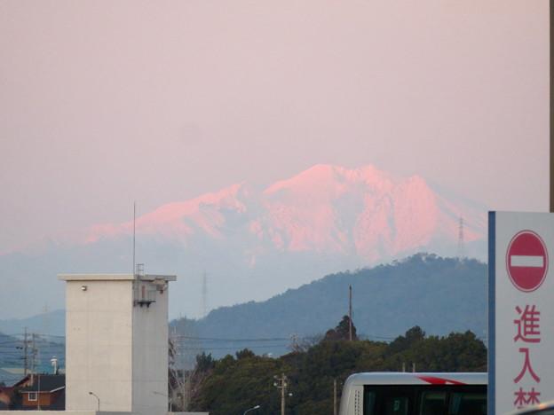 エアポート名古屋から見えた御嶽山 - 2
