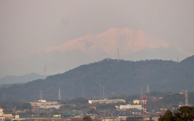 エアポート名古屋スカイデッキから見えた御嶽山 - 2