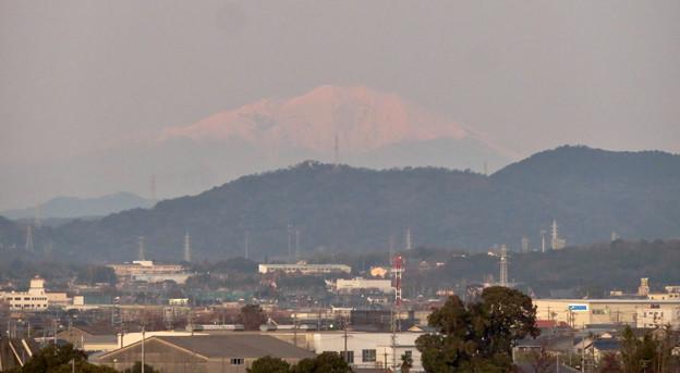 エアポート名古屋スカイデッキから見えた御嶽山 - 4