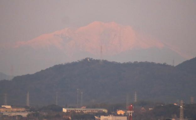エアポート名古屋スカイデッキから見えた御嶽山 - 6