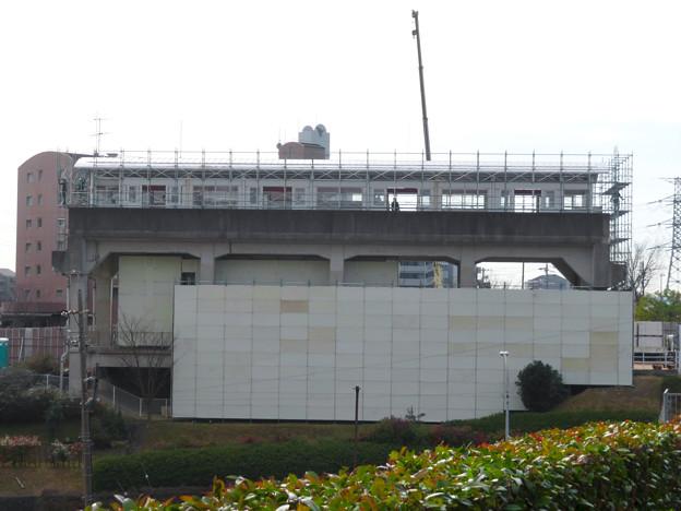 桃花台線の桃花台東駅撤去工事(2020年1月22日) - 2