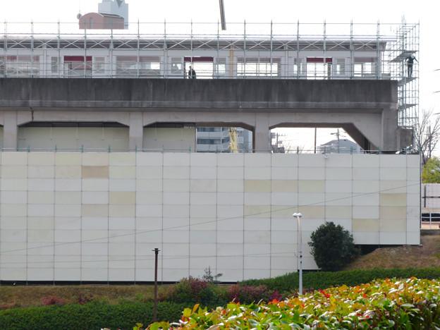 桃花台線の桃花台東駅撤去工事(2020年1月22日) - 3