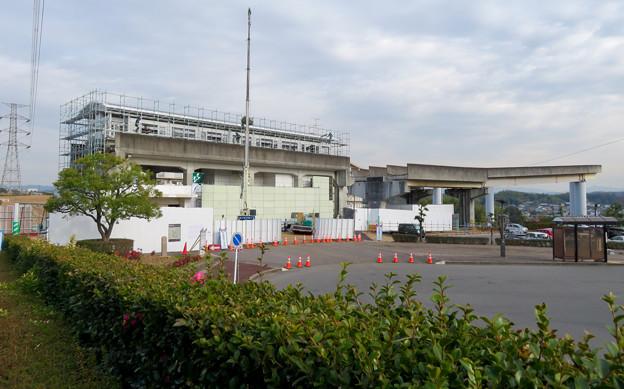 桃花台線の桃花台東駅撤去工事(2020年1月22日) - 7