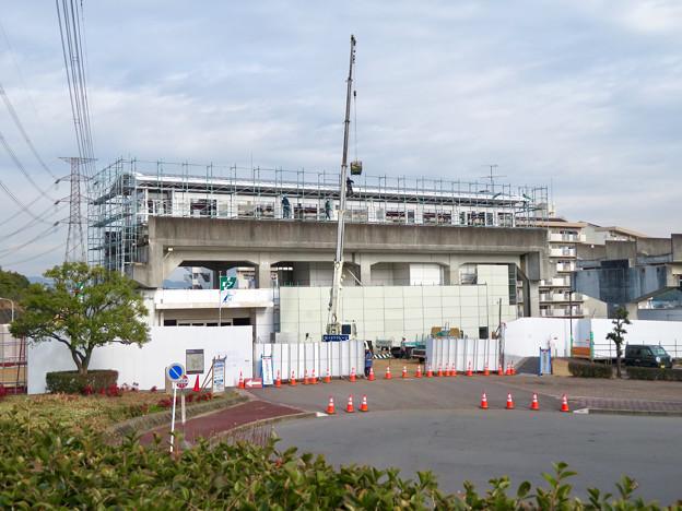 桃花台線の桃花台東駅撤去工事(2020年1月22日) - 9