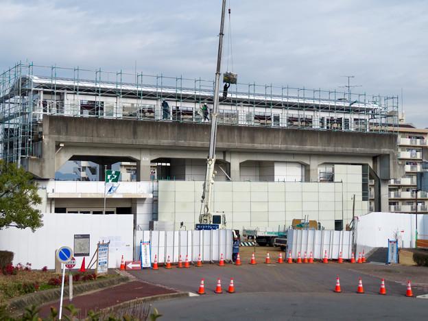 桃花台線の桃花台東駅撤去工事(2020年1月22日) - 10