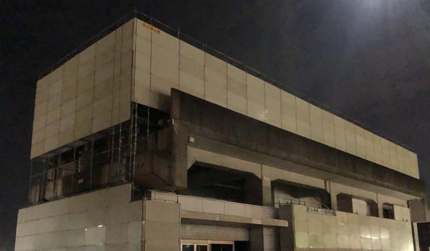 桃花台線の桃花台東駅撤去工事(2020年1月24日):ホーム部分も覆われる - 6