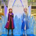 Photos: ラシックのアナ雪ツリー:エルザだけでなくアナの像も追加! - 2