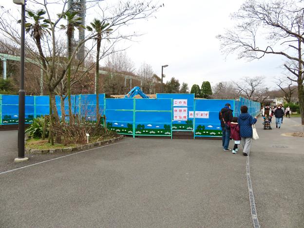 東山動植物園 現在整備工事中のエリア(2020年1月)- 3:新トラ・オラウータン舎