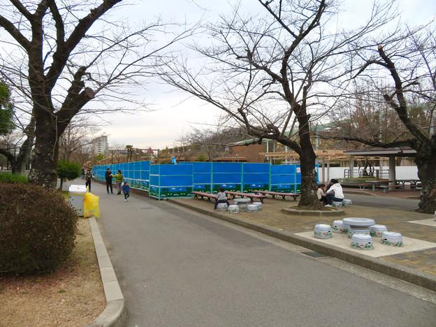 東山動植物園 現在整備工事中のエリア(2020年1月)- 4:新トラ・オラウータン舎