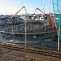 Photos: 建設中のリニア中央新幹線 神領非常口(2020年2月1日) - 6