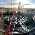 建設中のリニア中央新幹線 神領非常口(2020年2月1日) - 8:パノラマ