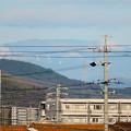 春日井市内から見えた薄っすら雪を頂く恵那山と笠雲 - 5