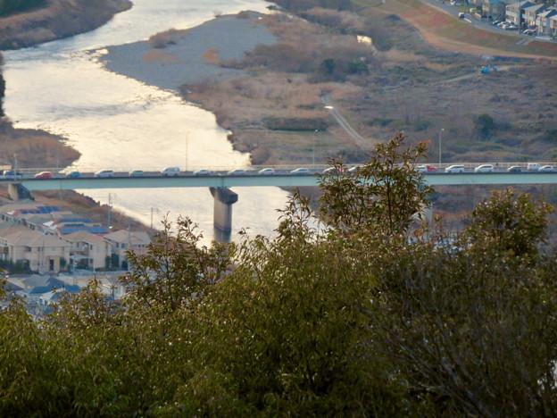 東谷山展望台から見た景色 - 4:新東谷橋