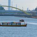 Photos: 中川運河を移動する2艘の水上バス「クルーズ名古屋」の船 - 3