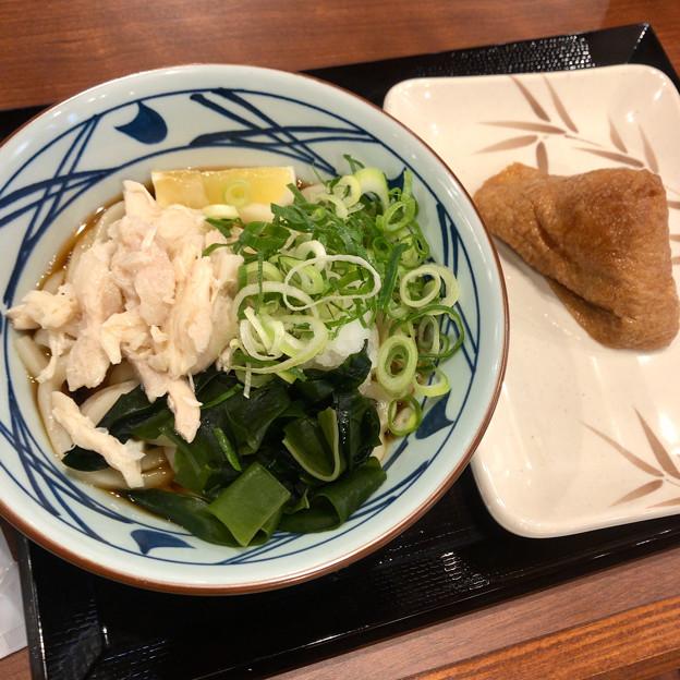 丸亀製麺:蒸し鶏ぶっかけ - 2