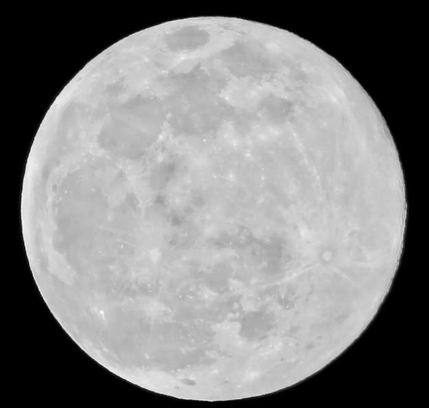 冬の満月(2020年2月9日)- 2