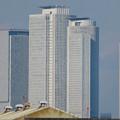 中川運河の東海橋から見た名駅ビル群 - 4