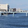 Photos: 中川運河の東海橋から見た水道橋? - 1