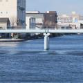 Photos: 中川運河の東海橋から見た水道橋? - 2