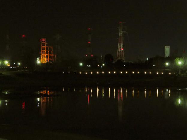 Photos: 夜の落合公園