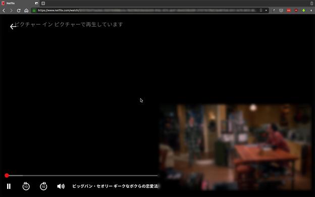 Vivaldi 2.11.1811.28:Netflixでもビデオポップアウトが可能に