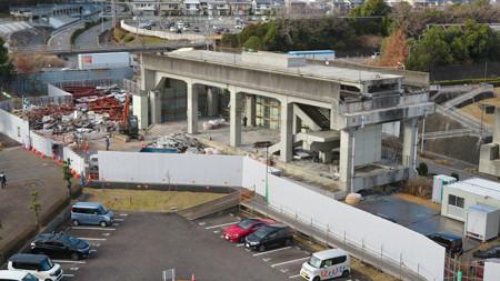 桃花台線の桃花台東駅撤去工事(2020年2月18日) - 17