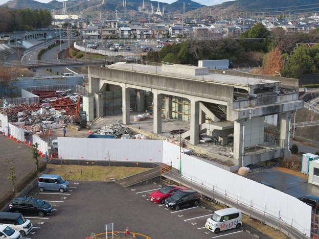 Photos: 桃花台線の桃花台東駅撤去工事(2020年2月18日) - 18