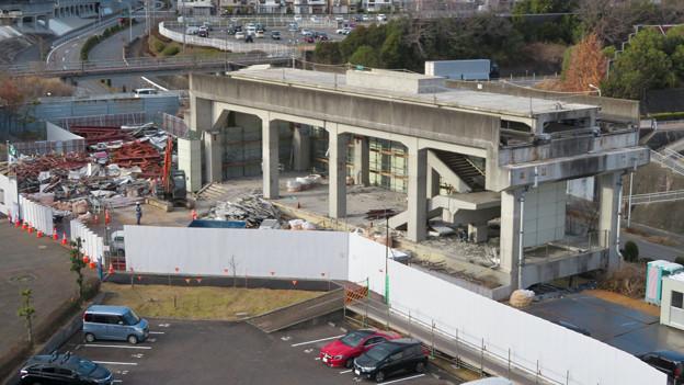 Photos: 桃花台線の桃花台東駅撤去工事(2020年2月18日) - 19