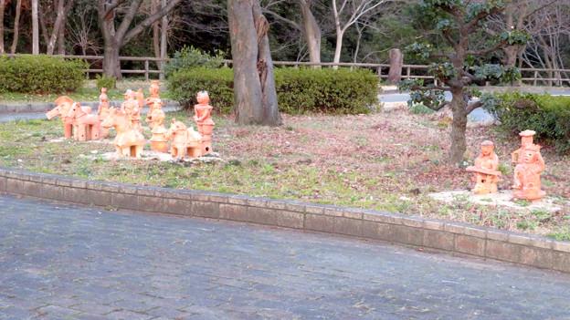 二子山公園 - 17:埴輪