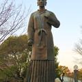 Photos: 二子山公園:古代人女性の像? - 3