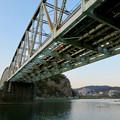 Photos: 真下から見上げた犬山橋 - 2