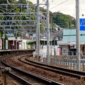 Photos: 踏切から見た犬山遊園駅 - 3