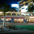 Photos: 一昨日オープンしたばかりの「ミツコシマエヒロバス」(夜) - 14:レストラン