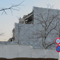 Photos: ホテルインディゴ犬山有楽苑新築工事(2020年2月23日) - 2:旧建物の解体工事