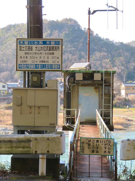 国土交通省 犬山水位流量観測所 - 5