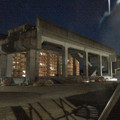 Photos: 桃花台線の桃花台東駅解体撤去工事(2020年2月27日) - 8:ますます古代遺跡の様に!